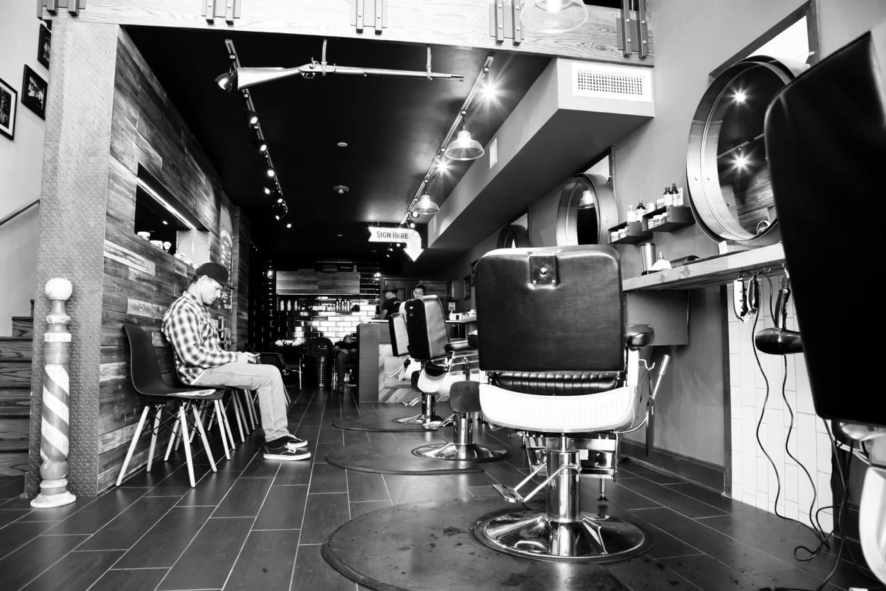 A downtown Prescott barbershop offering a signature grooming experience for men.